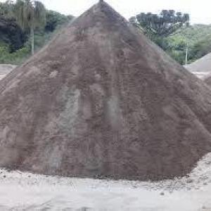 Pó de rocha tonelada
